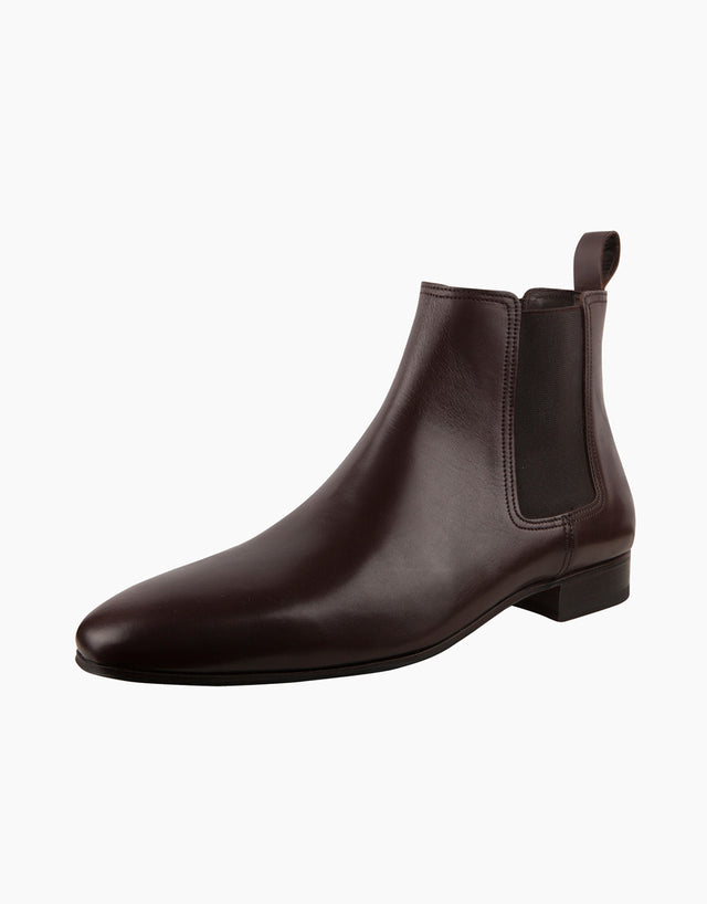 Chocolate Chelsea Boots