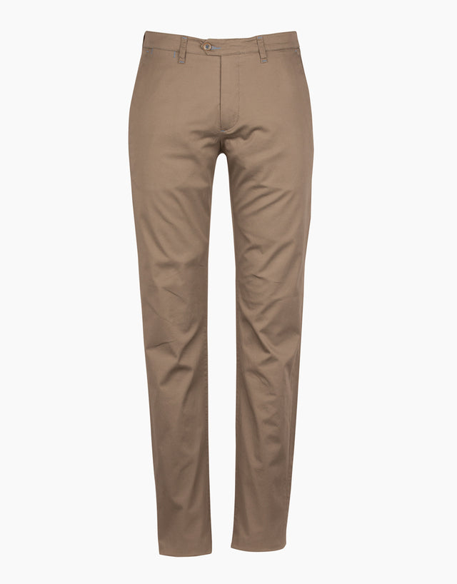 Soho Putty Dot-print Chinos