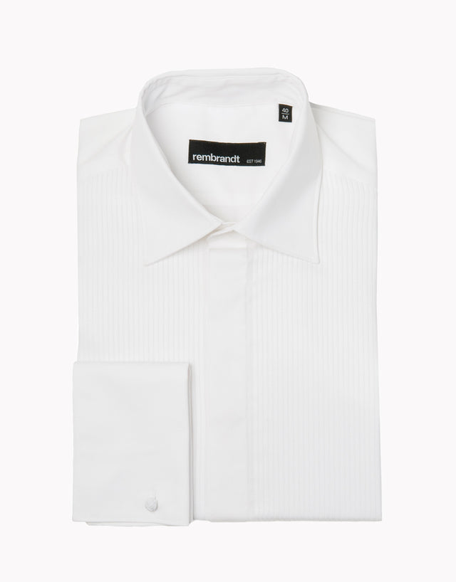 Heston White Formal Shirt