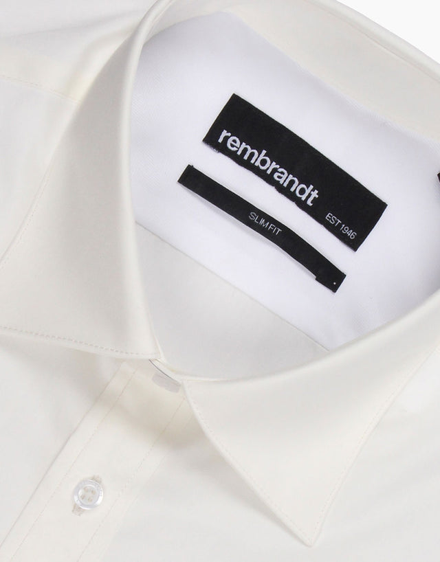 Santiago Ivory Tailored Shirt