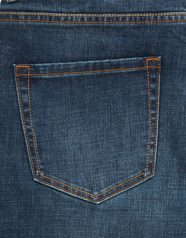 Victor faded denim jeans