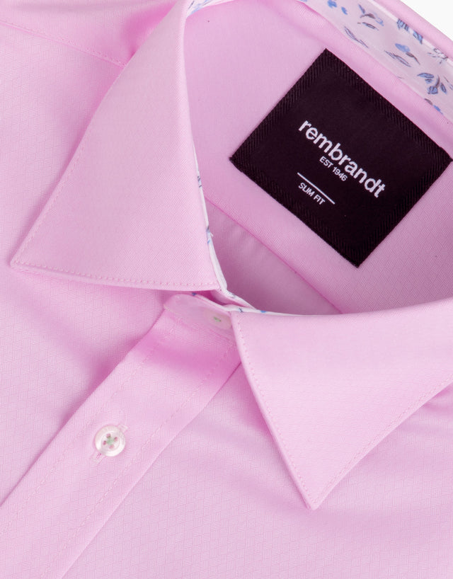 Barbican Pink Geometric Shirt