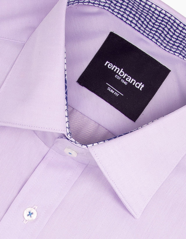 Barbican Lilac Business Shirt