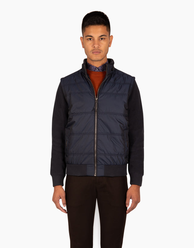 Simpson navy 4-in-1 jacket