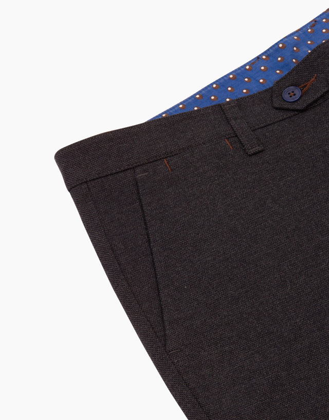 Soho Navy Casual Chinos