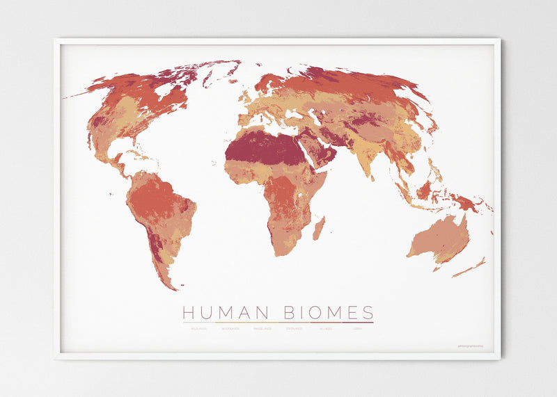 THE WORLD AS THE SIX ENVIRONMENTS WHERE HUMANS LIVE
