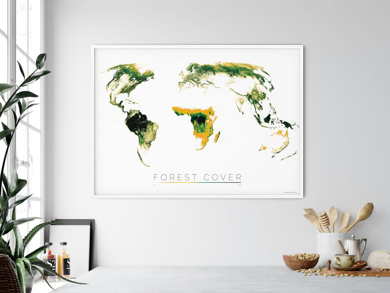 THE WORLD AS FOREST Mapographics Print Material