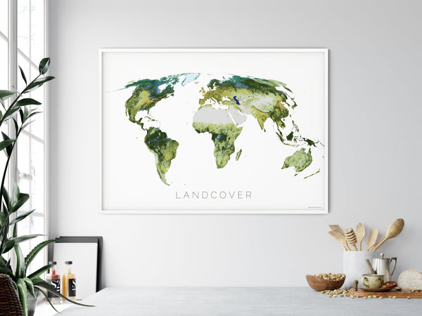 THE WORLD AS IT APPEARS Mapographics Print Material