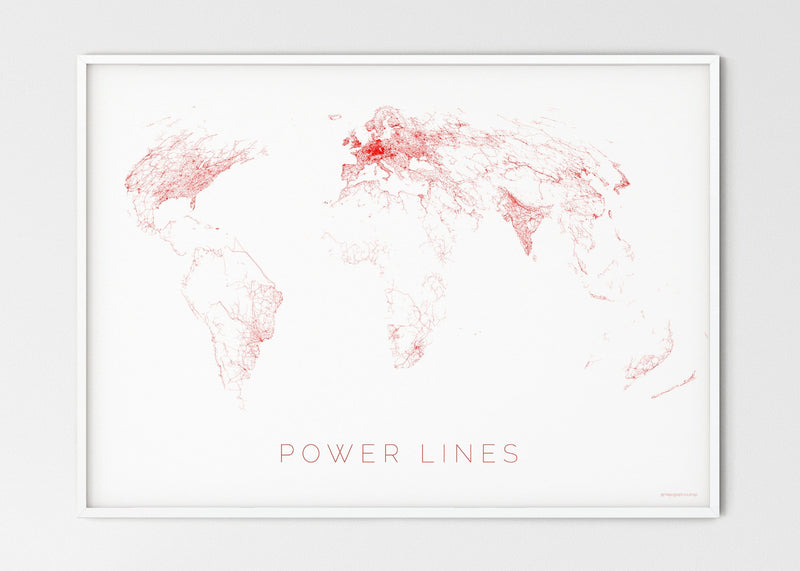THE WORLD AS POWER LINES