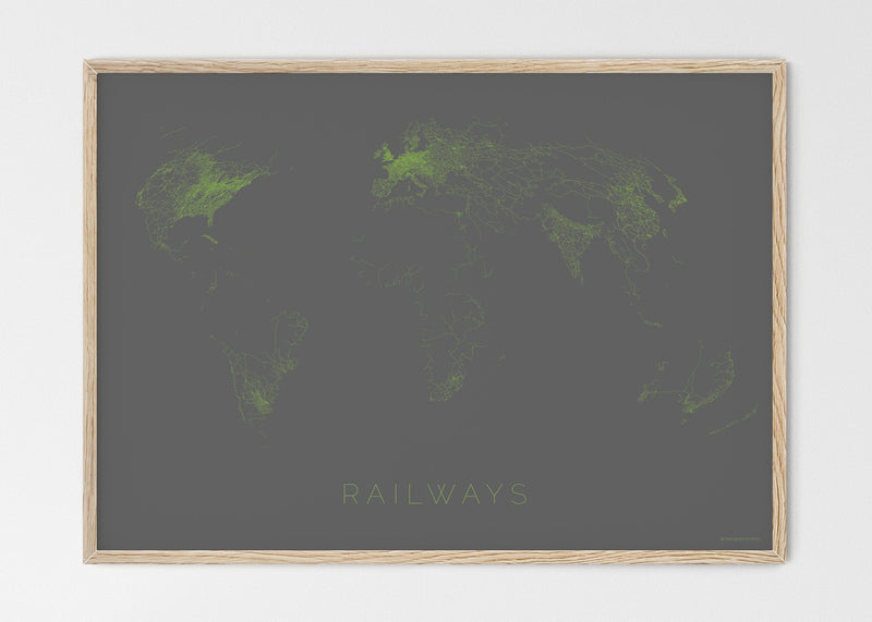 THE WORLD AS RAILWAYS