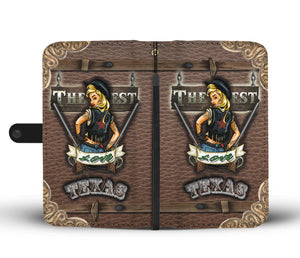 The West love Texas Mobile phone wallet case - Luda Glava Shop