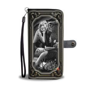 Ride Or Die custom wallet phone case1 - Luda Glava Shop