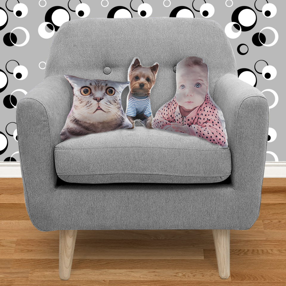 dinamo2 Custom Shape Cushion