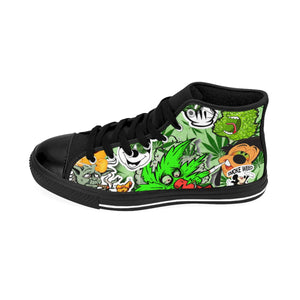 Men's High-top Sneakers - Luda Glava Shop