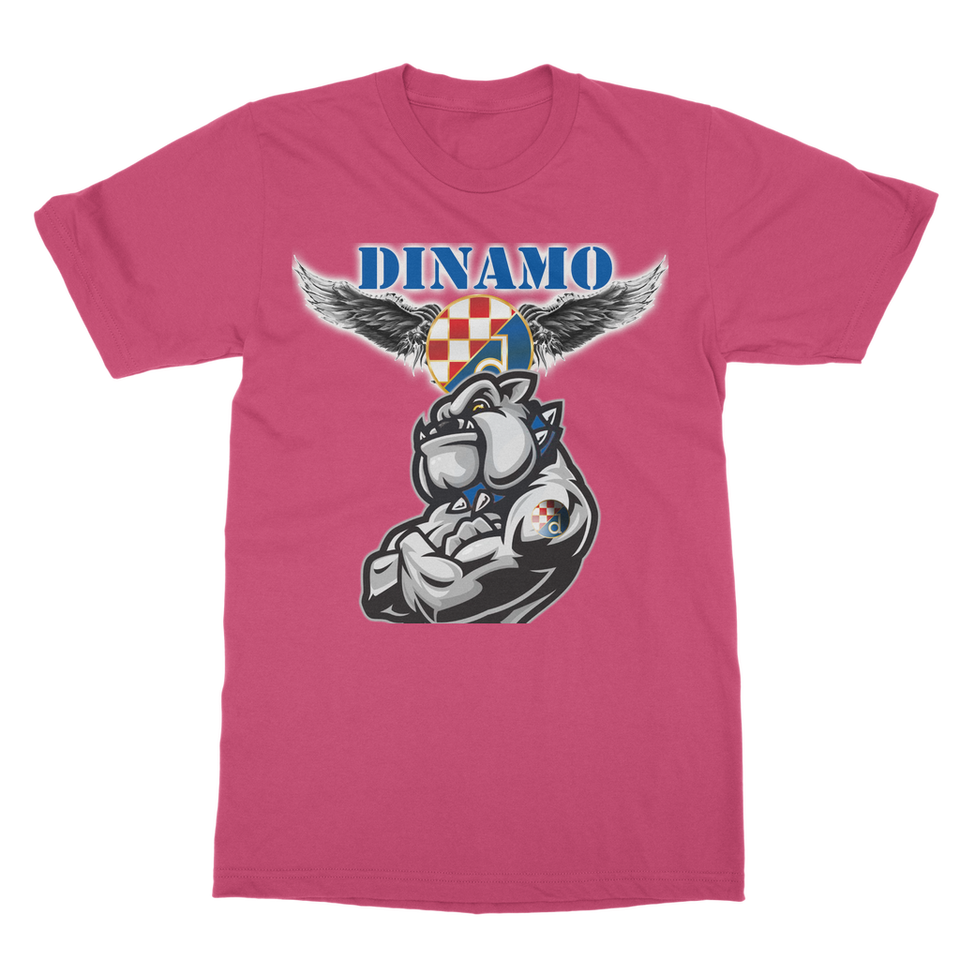 dinamo Classic Adult T-Shirt Printed in UK