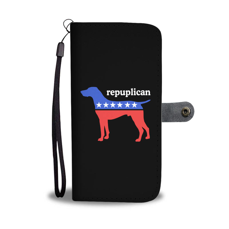My Dog is a Republican Wallet Cases