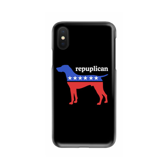 My Dog is a Republican Slim Phone Cases