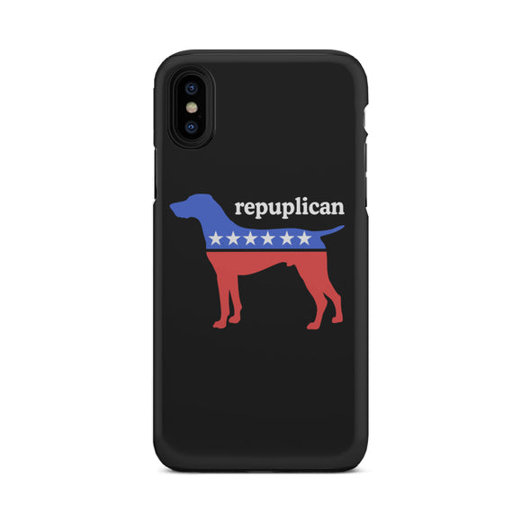 My Dog is a Republican Tough Phone Cases