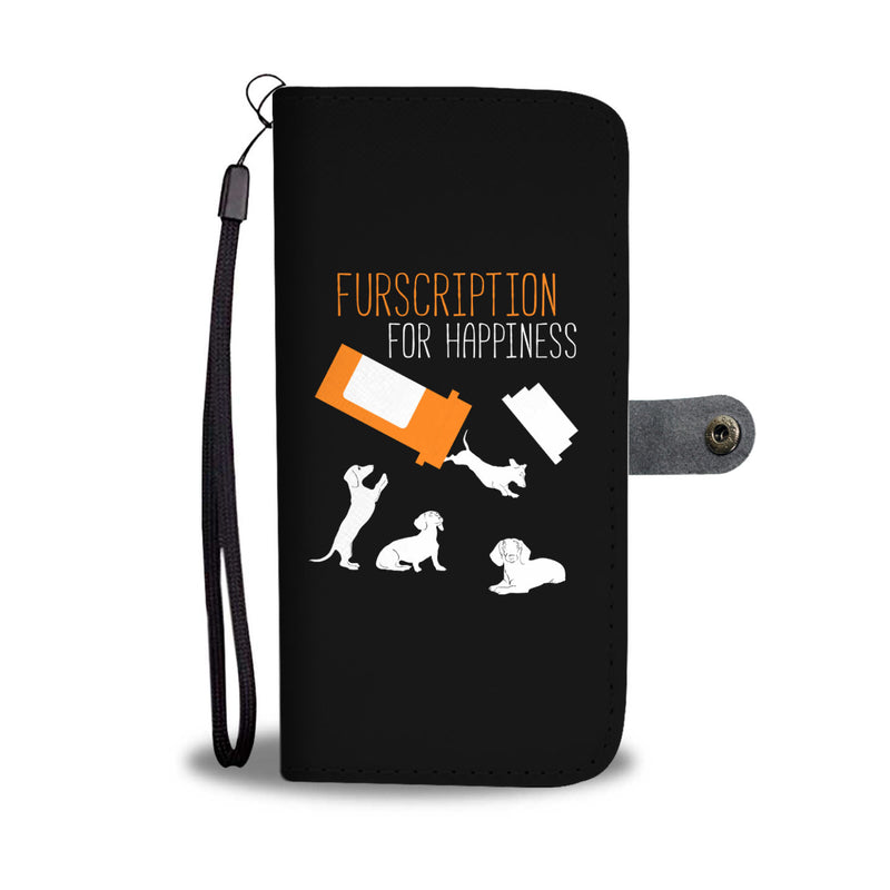 Furscription for Happiness : Dachshunds - Wallet Cases