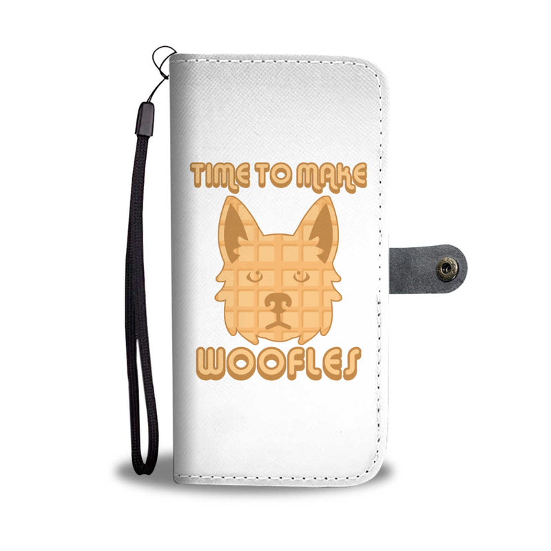 Time to Make Woofles Wallet Cases
