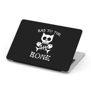 Bad To The Bone Cat MacBook and MacBook Pro Case