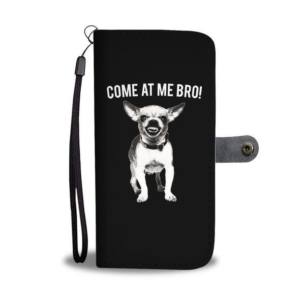 Come At Me Bro, Mad Dog Wallet Cases