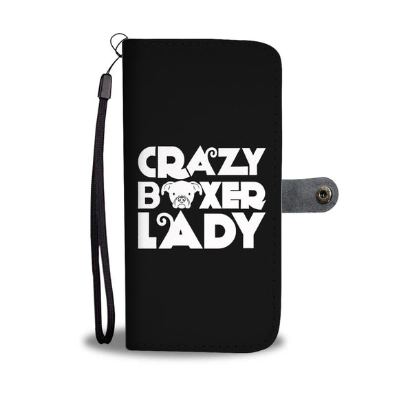 Boxer Lady Wallet Cases