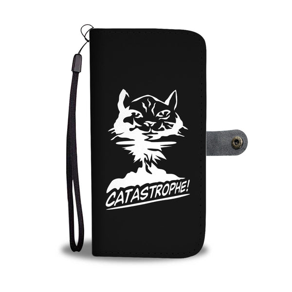Big CATastrophe! Wallet Cases