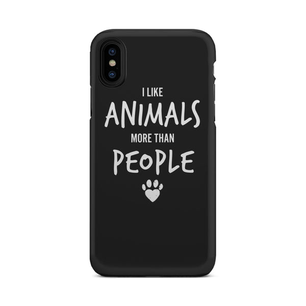 I Like Animal, More Than People Tough Phone Case