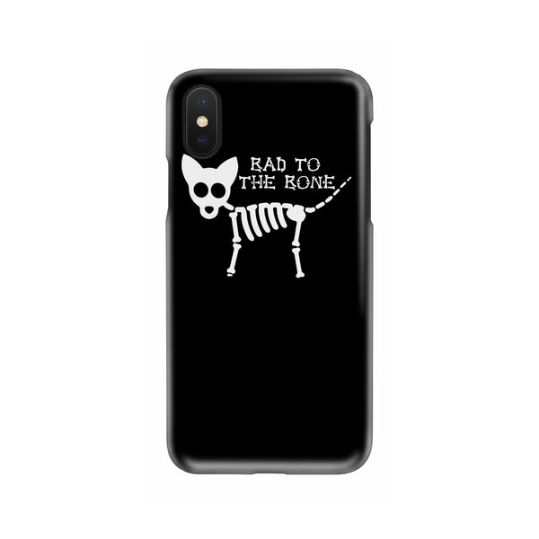 Bad To The Bone Cat Skull Slim Phone Case