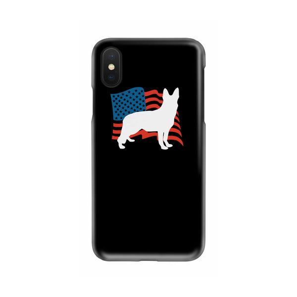 Love USA German Shepherd Slim Phone Case