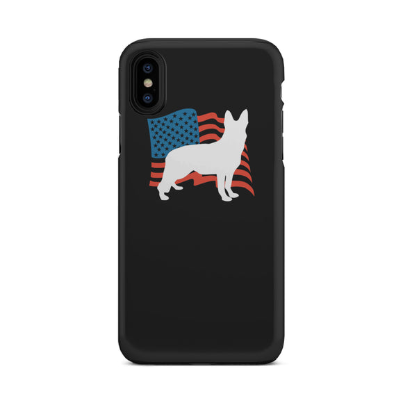 Love USA German Shepherd Tough Phone Case