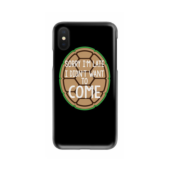 Didnt Wanna Come Slim Phone Case
