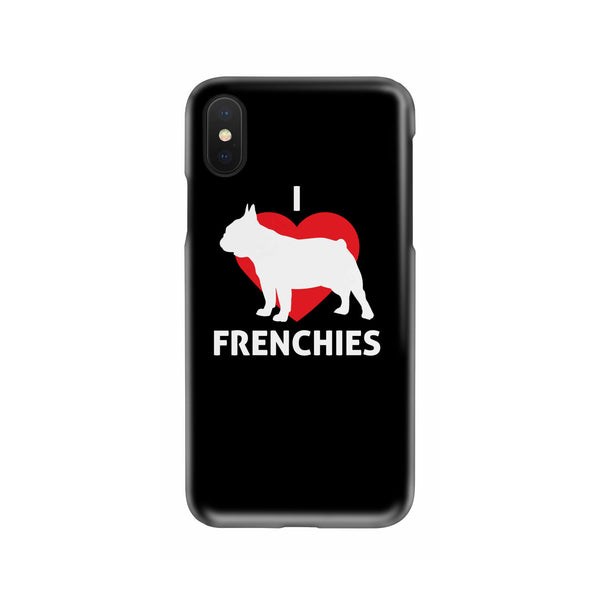 I Love Frenchies Slim Phone Case