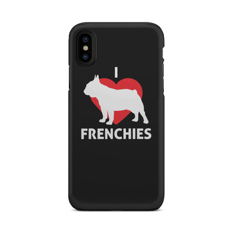 I Love Frenchies Tough Phone Case