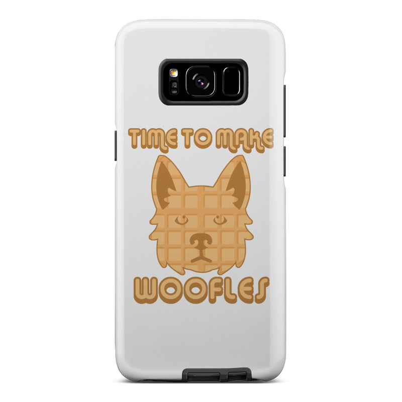 Time to Make Woofles Tough Phone Cases