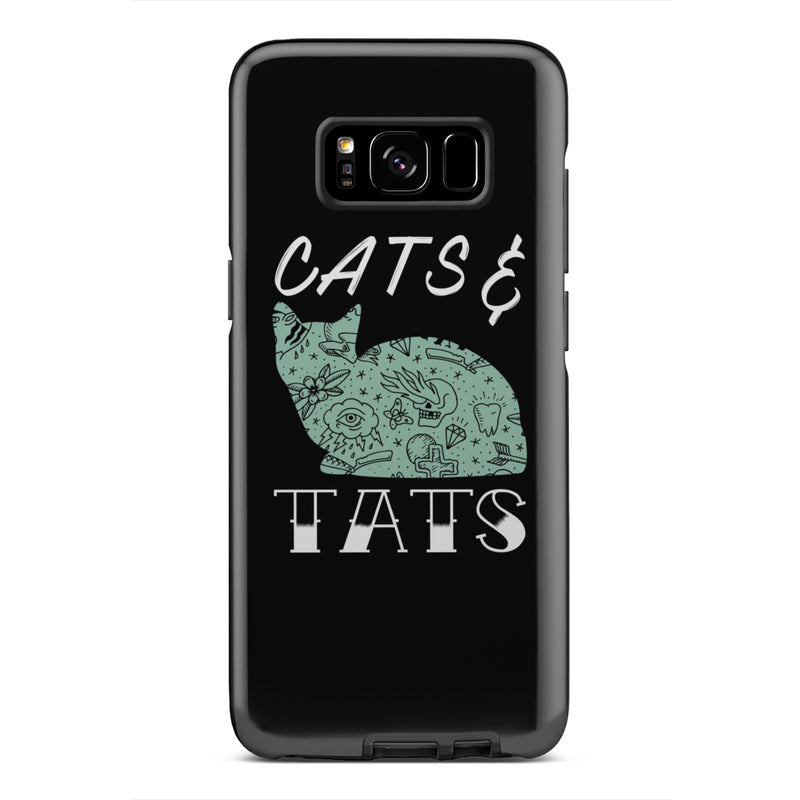 Cats and Tats Tough Phone Cases