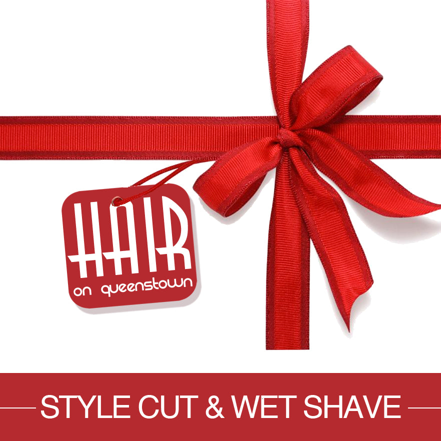 Gift Voucher Style Cut & Wet Shave