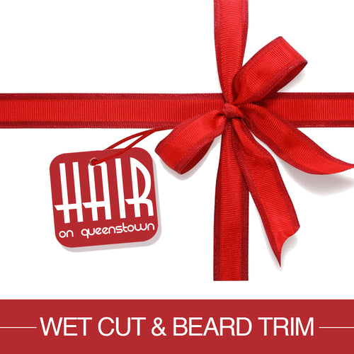 Gift Voucher Wet Cut & Beard Trim