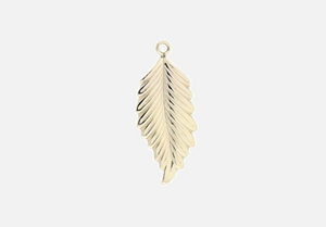 Feather Individual Charm