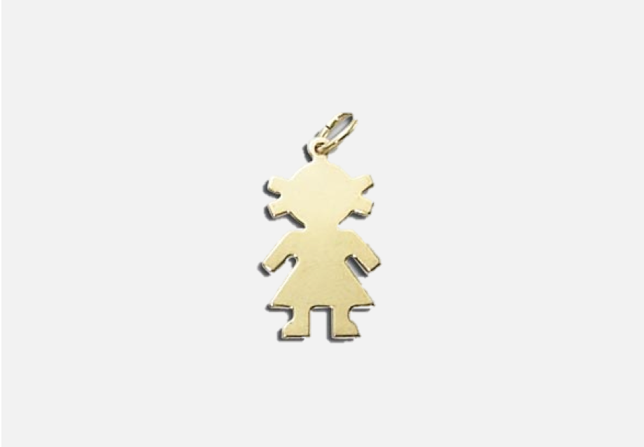 Little Girl Individual Charm
