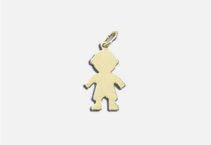 Little Boy Individual Charm