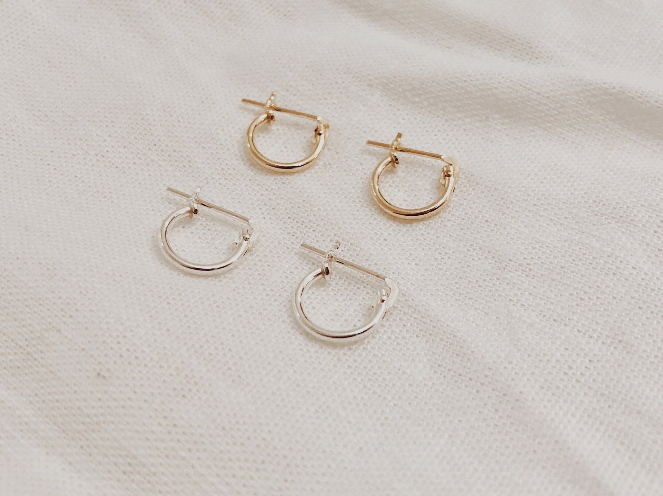 Tiny Hugger Hoops