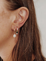 Crystal Dangling Studs