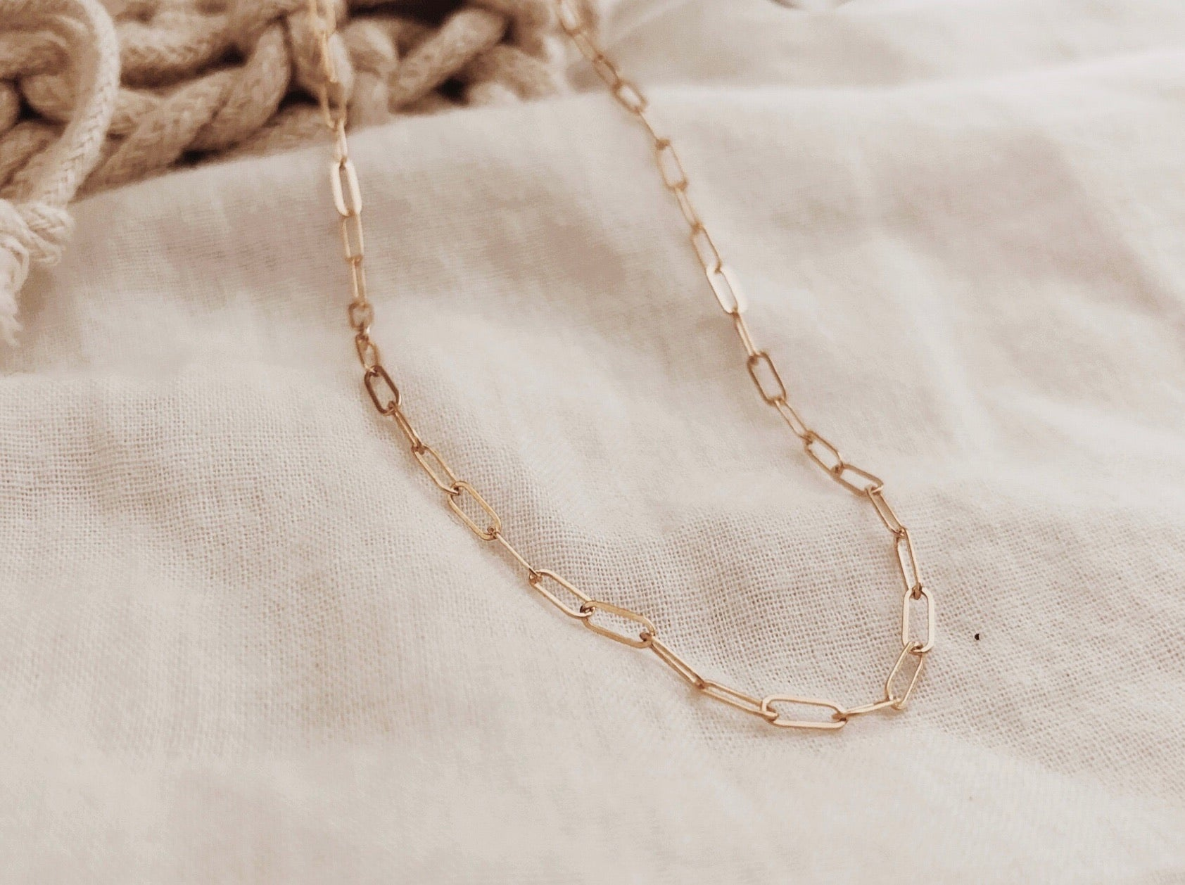 Rectangle Delicate Anklet