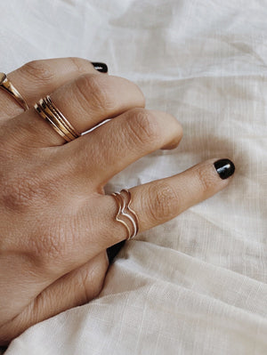 The Chevron Ring