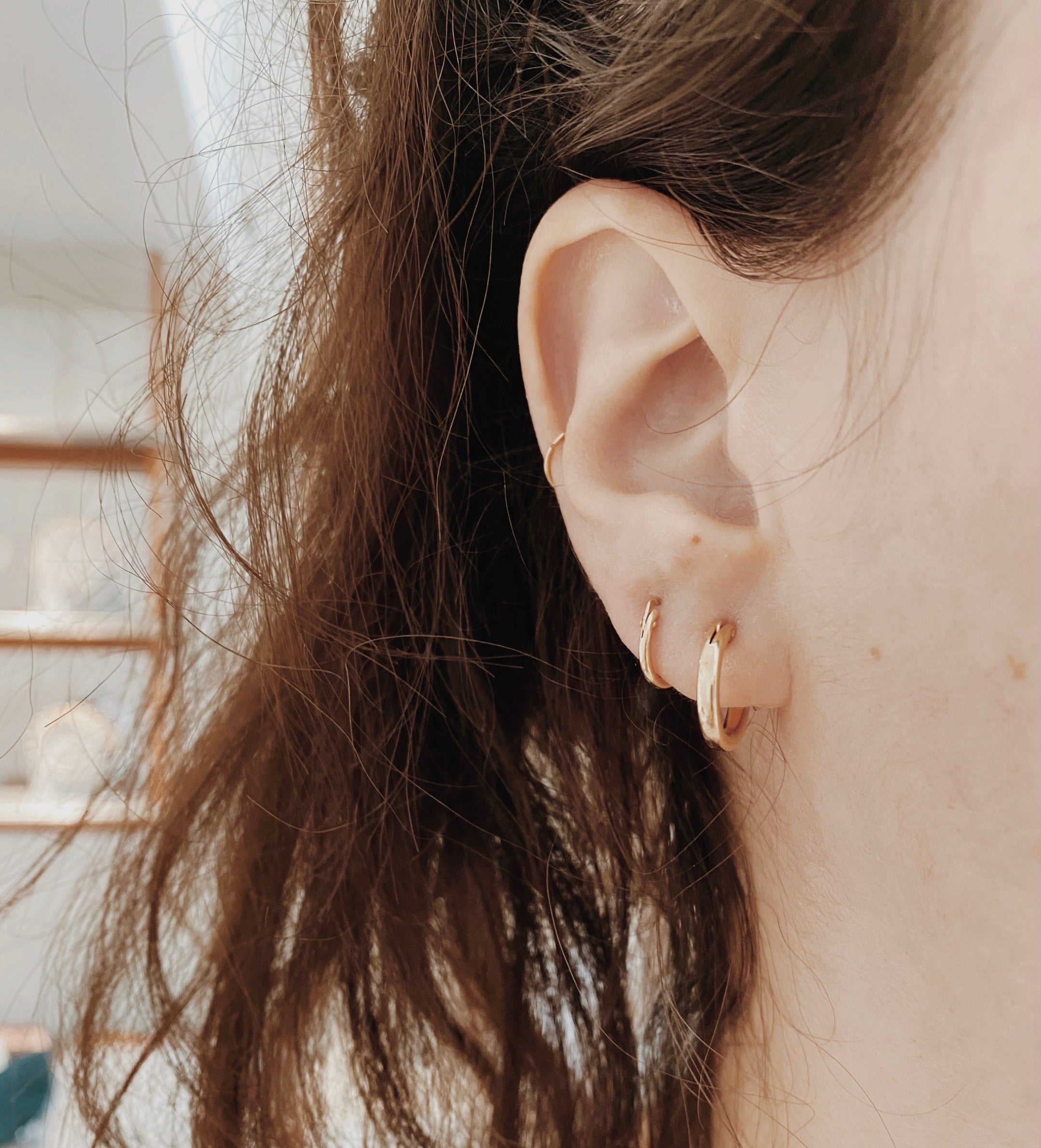 The Perfect Small Hoops