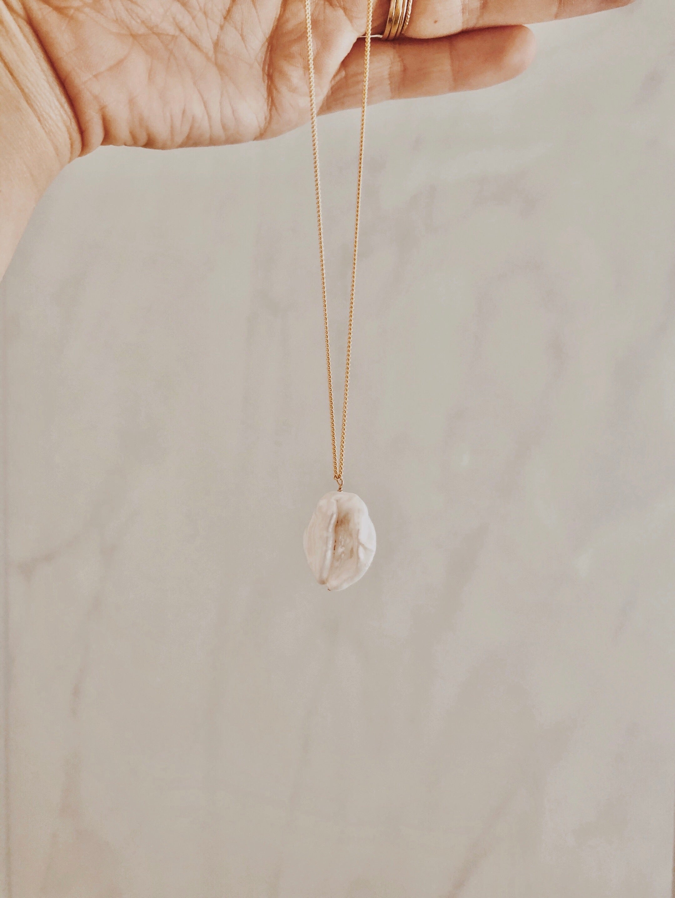 Limited - Baroque Pearl Necklace