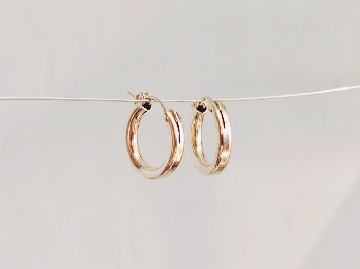Chunky Small Hoops