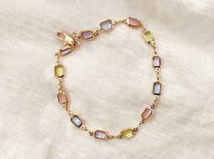 Gem Linked Bracelet